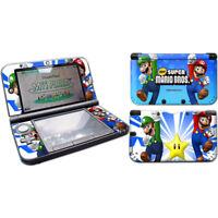 NEW Super Mario Bros design Vinyl Decal Skin Sticker for Nintendo 3DS XL (LL)