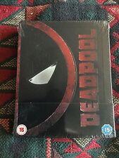 Deadpool steelbook, U.K. Import, region free