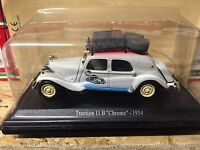 "DIE CAST "" TRACTION 11 B  CHROME - 1954 "" CITROEN ATLAS  1/43"