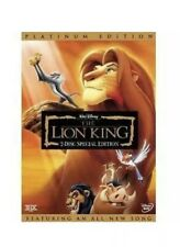 The Lion King DVD, Double Disc Set, Special Edition Brand New