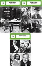 FICHE CINEMA x3 : DONALD CRISP DE 1914 A 1963 - Grande-Bretagne (Biographie)