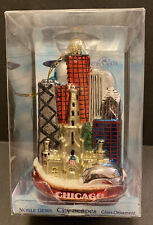 Kurt Adler 5-Inch Glass Chicago City Ornament