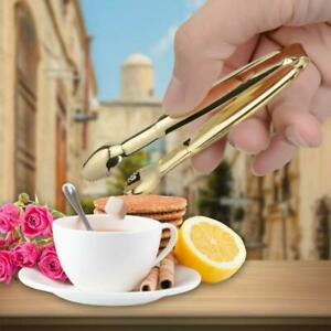 Tea Clips Coffee Sugar Clip Tweezer Mini Clamp Tong Clips Coffee Tea Clamp