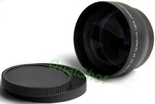 52mm 2x Telephoto Black LENS for Canon Rebel 300D 350D