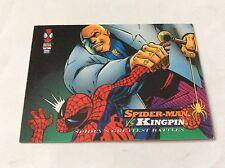 SPIDER-MAN vs KINGPIN  SPIDER-MAN and MARVEL CARD 1994 nr 111