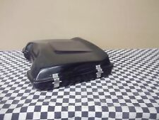 Tour Pack Lap Top with wing  Harley Bagger Black Hinged + Latched pak bagger HD