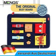 Beschäftigtes Brett Lernspielzeug Montessori für Kinder Spielzeug Busy Board DE