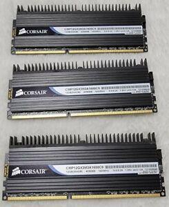 12GB CORSAIR (3X4GB) CMP12GX3M3A1600C9 DDR3 GAMING DESKTOP RAM MEMORY