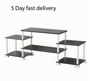 """Universal No-Tools Assembly Entertainment Center for TVs Up to 40"""" TV Stand New"""