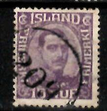 Iceland Number cancel #209 used in Stykkisholmur