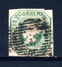 PORTUGAL - PORTOGALLO - 1853 - Effigie della Regina Maria II° - 50 r. verde