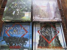 Lot 4 jeux de société Le Seigneur des Anneaux Tolkien - TILSIT HASBRO PARKER