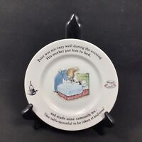 "Peter Rabbit Nursery by Wedgwood Plate 7"" Replacement - Beatrix Potter See Notes"