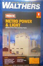 "Walthers N #933-3837 Metro Power & Light -- Kit - 9-7/16 x 4-11/16 x 10-5/8"" 23."