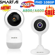 Smart FHD 1080P IP Kamera Überwachungskamera WIFI WLAN Funk Nachsicht Webcam IR