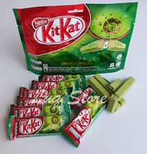 Nestle KitKat Malaysia Green Tea Matcha Mocha Chocolate Confectioner New 8 Packs