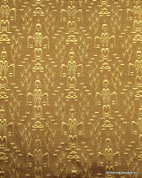 """Antique Radio Speaker/Grille Cloth, 18x24, """"Aztec"""", See Description"""