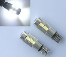 2x T10 CANBUS CREE W5W 501 LED 10 SMD SUPER BRIGHT WEDGE LIGHT WHITE XENON BULBS