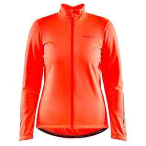 Craft Core Ideal Cycling Jacket  2.0 Women Large Bright Orange