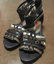 Pikolinos Womens Brown Leather Gladiator Sandals Sz 39 Us 8 M