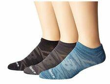 6 Pair New Balance Socks, Men's Shoe Size 10-12, Women's No Show Ankle Blue MP