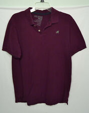 Old Navy Burgundy/Magenta Polo Short Sleeve Shirt Size M Medium Classic