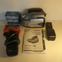 "Panasonic Palmcorder PV-L452D VHS-C Camcorder 750x Digital Zoom 2.5"" LCD Monitor"