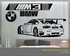 M3 GT2 M-Power Sport Race Car Large Removable Wall Vinyl Decal Sticker