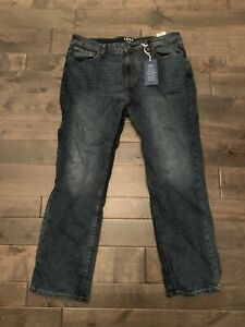 IZOD Mens Relaxed Fit Blue Jeans 38x30