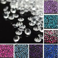 1000-2000pcs 4.5mm Wedding Decor Crystals Diamond Table Confetti Party Supplies