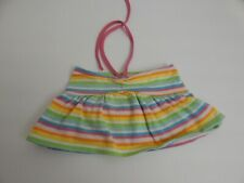 New listing Build A Bear ~ Multi Color Stripe Summer Top
