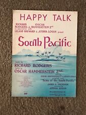 Happy Talk (Richard Rodgers And Oscar Hammerstein) South Pacific Vintage Rare