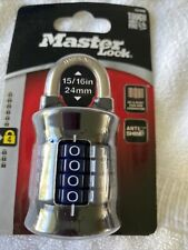 Master Lock 1535d Locker Lock Set Your Own Combination Padlock Aa2