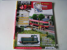 **e Loco revue n°715 Voitures VTU Roco en H0 / Gare de Châtellerault-Châteauneuf