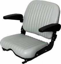 UNIVERSAL HEAVY DUTY SEAT W/ ARM RESTS FOR INDUSTRIAL,CONSTRUCTION,FARM TURF #KW