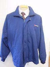 "Vintage Genuine Berghaus Gemini Short Jacket Coat L 42-44"" Euro 52-54 - Blue"