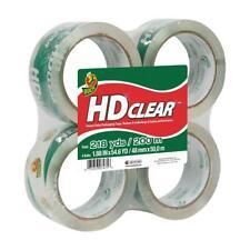 Duck Hd Clear Heavy Duty Packaging Tape Refill 4 Rolls 188 Inch X 546 Yard