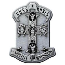 OFFICIAL LICENSED - GUNS N ROSES - APPETITE METAL PIN BADGE ROCK SLASH