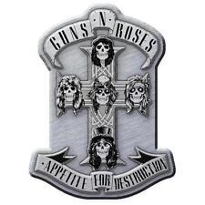 OFFICIAL LICENSED - GUNS N ROSES - APPETITE METAL PIN BADGE ROCK SLASH