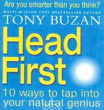 Head First!: 10 Ways to Tap into Your Natural Genius Buzan, Tony Hardcover