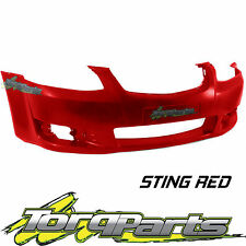 REPLACEMENT FRONT BAR COVER RED SUIT VE OMEGA SERIES 2 COMMODORE HOLDEN BUMPER