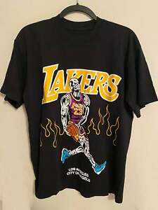 Warren Lotas Lakers Lebron T Shirt Vintage Gift For Men Women Funny Black Tee