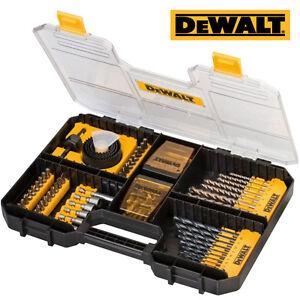 DEWALT DT71569 100PCE WORKSITE DRILL & SCREWDRIVER BIT SET IN TSTAK DRAWER