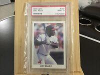 1990 Leaf JOEY BELLE rookie card #180 PSA 9 MINT