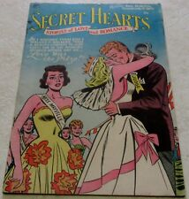 Secret Hearts 17, (FN/VF 7.0) 1953 Early DC Love! 25% off Guide