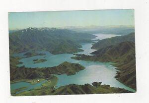 Lake Benmore Otago 1968 Postcard New Zealand 556a