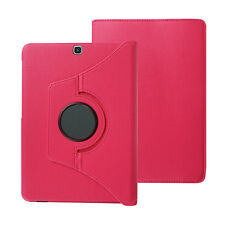 """360 Rotating Magnetic Folio Leather Case Cover For Samsung Galaxy S2 8.0"""" /9.7"""""""