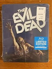 The Evil Dead (1981)   Steelbook   Blu-ray   Limited Edition   Brand New