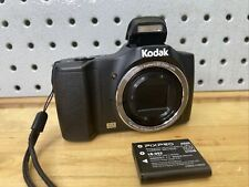 Kodak PIXPRO FZ152 Compact Digital Camera - Black, 15 Optical Zoom, 3
