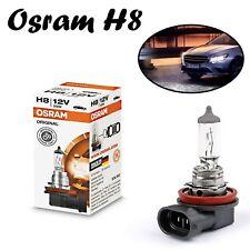 1x Osram H8 35W 12V PGJ19-1 64212 Clear White Original Line Headlight Auto Lampe